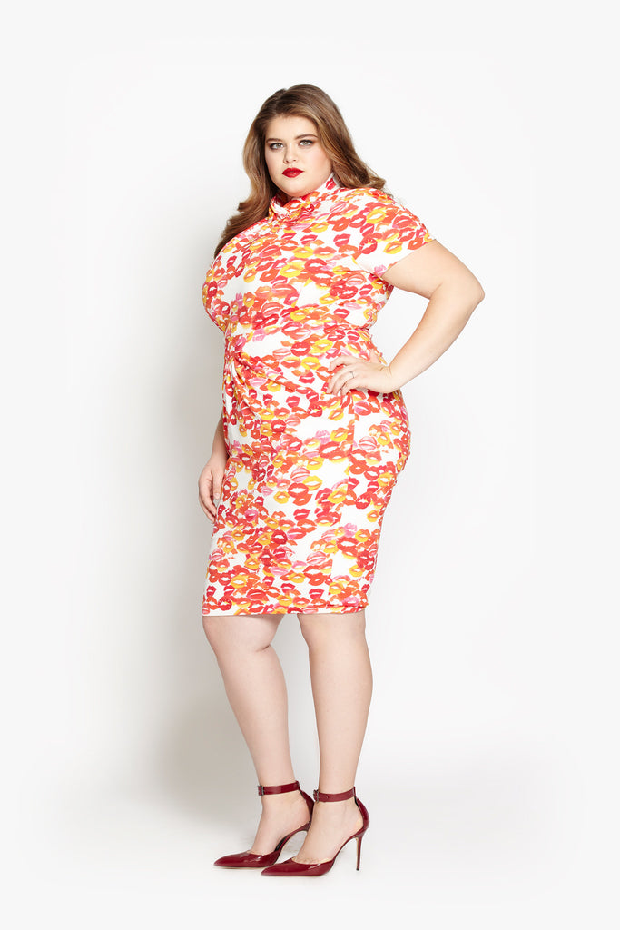Lola Dress - Lipstick Traces