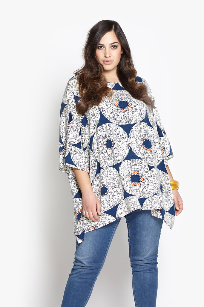 Kim Oversize Shirt - Electric Eye
