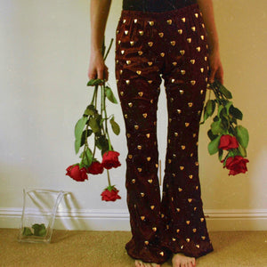 Love Well Pants in Burgundy - Size S