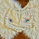 Color Me Happy Shorts in White - Size M