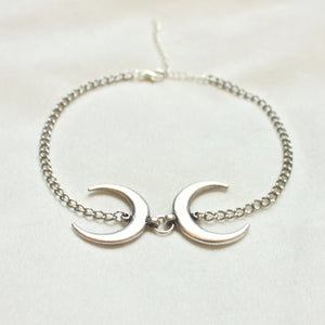 Duality Choker in Silver