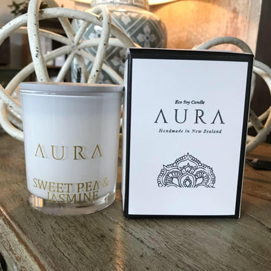 Aura Handmade Eco Soy Candle