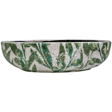 Pot Oval Large - Olive