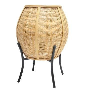 Elume Rattan Table Lamp
