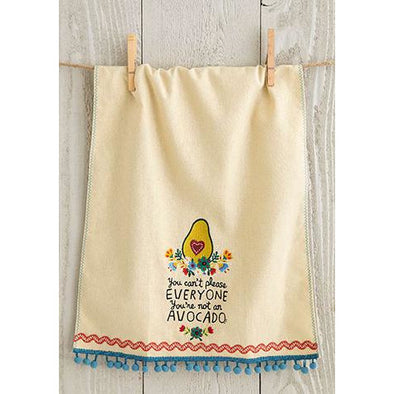 Linen Hand Towel Avocado