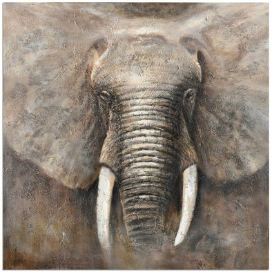 Elephant Power Canvas Art