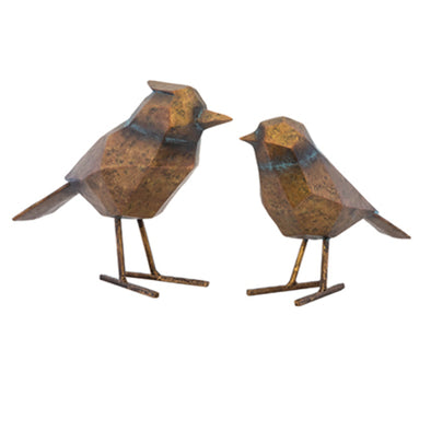 Ohio Birds Set of Two - Bronze