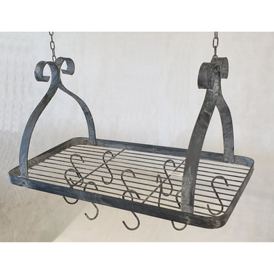 Kitchen Pot Hanger Antique Black