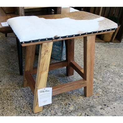 Small Cow Hide Stool