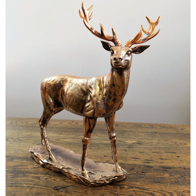 Copper Deer Stag