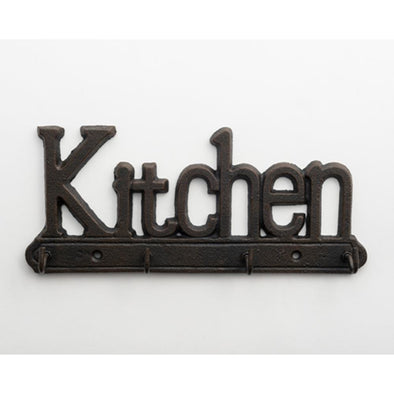 Cast Iron Kitchen Key Hanger