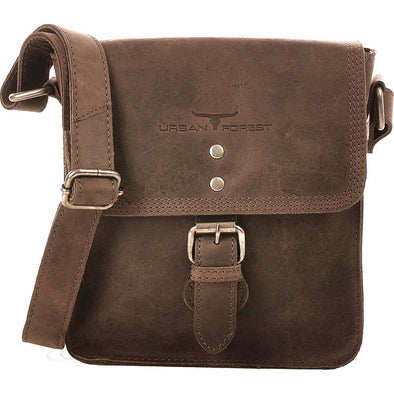 Little Joe Leather Cross Body Bag - Tobacco
