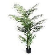 Potted Faux Areca Palm 1.2m