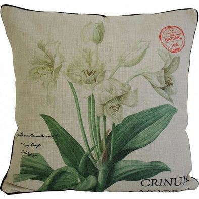 Classical Lily Cushion 50cm x 50cm
