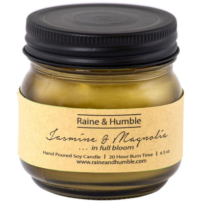 Raine & Humble Scented Candle  w/ Gift Bag - Jasmine & Magnolia
