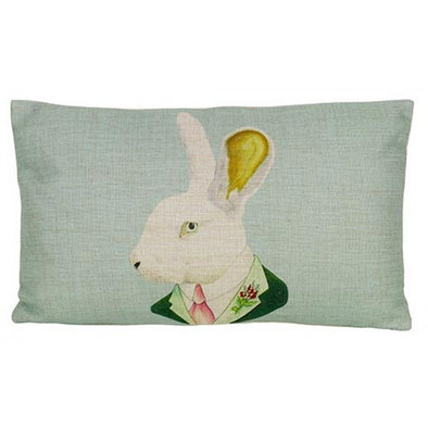 Formal Rabbit Cushion