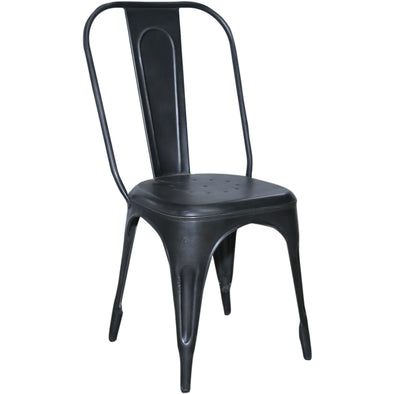 Industrial Style Metal Dining Chair