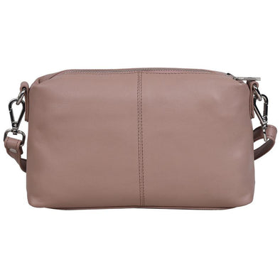 Lauren Small Leather Handbag -Fenasia Dusty Rose