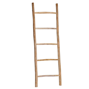 Hilda Ladder Nat Teak Wood