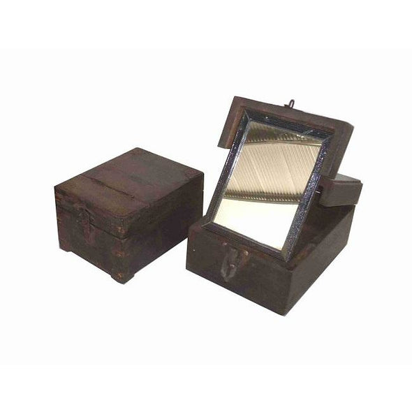 Original Shaving Box With Mirror