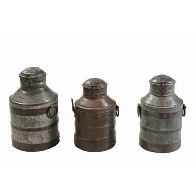 Original Indian Milk Churn