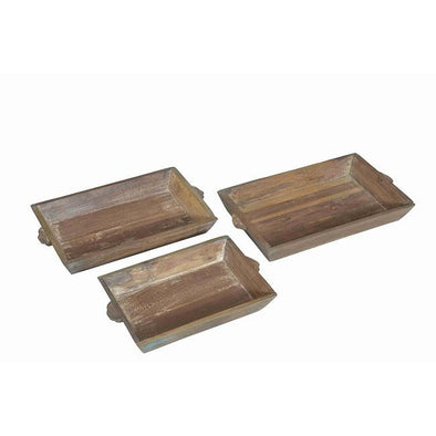 Wooden Rectangle Tray - 3 sizes