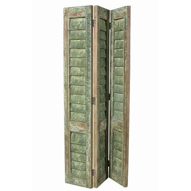 Original Shutter Screen - Rustic Green