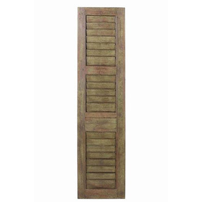 Original Single Window Shutter-Vintage Green
