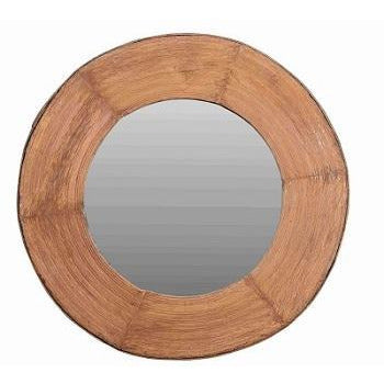 Recycled Wood Frame Mirror - 143cm