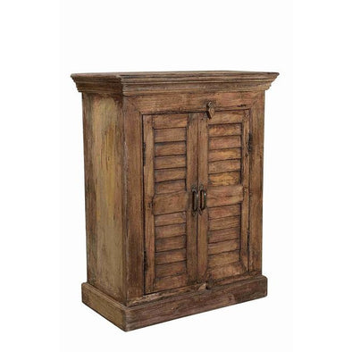 Small Slatted Cabinet
