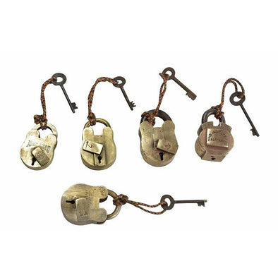 Original Brass Lock and Key
