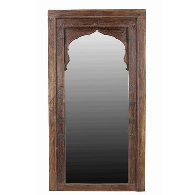 Moroccan Wood Mirror