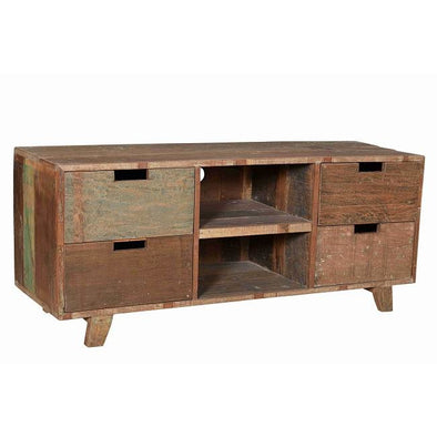 Rustic Retro Style Entertainment Unit