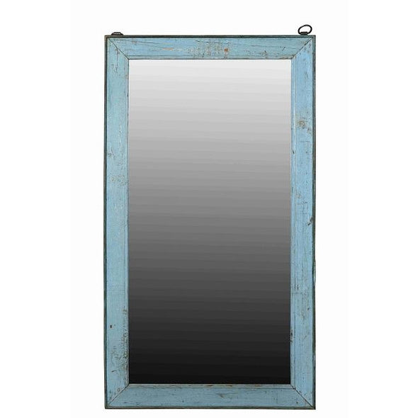 Blue Wash Mirror