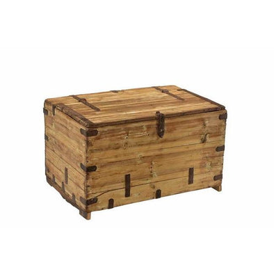 Original Wooden Chest- Natural Finish