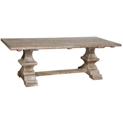 Farmhouse Dining Table - 2 Finishes