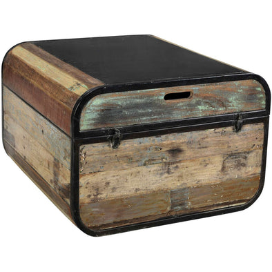 Wood and Iron Industrial Style Box