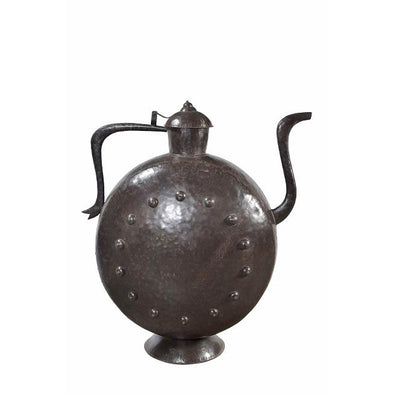 Large Iron Decorative Traditional Teapot.