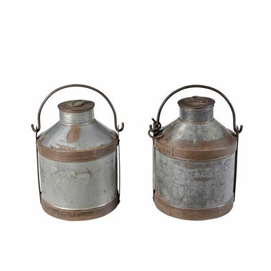 Iron Milk Churn - Large