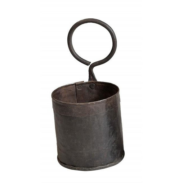 Single Iron Pot with Round Handle