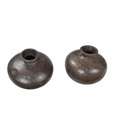 Original Indian Water Pot- Rustic Brown