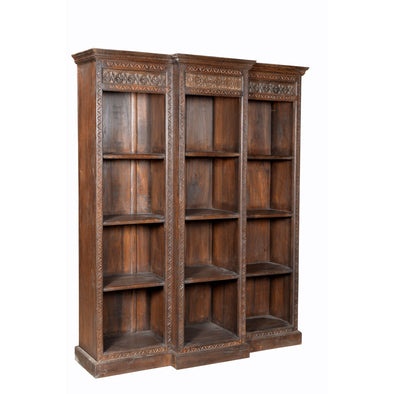 Grand Carved Bookcase
