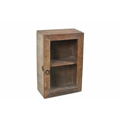 Small Glass Standing Cabinet