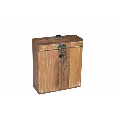Wooden 3 bottle Storage Box