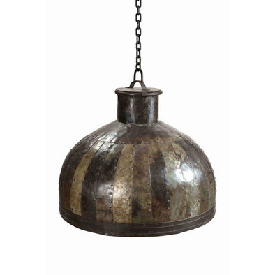 Large Metal Dome Shaped Lamp