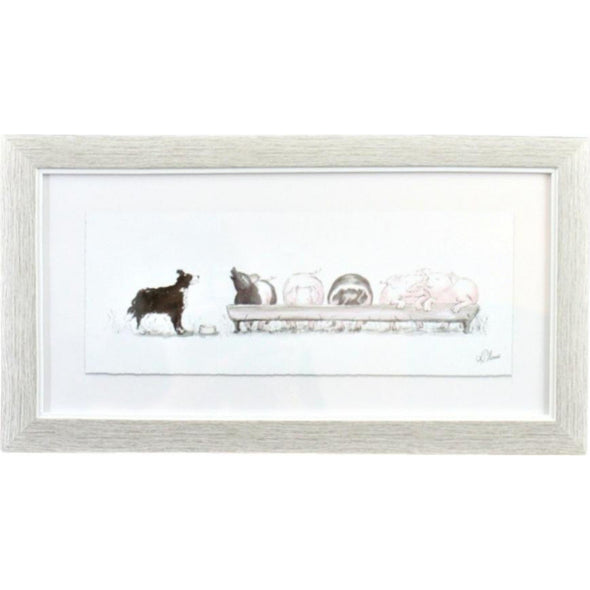 Framed Counting Pigs