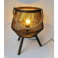 Bamboo Table Lamp - Large