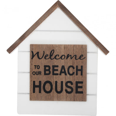 Sign Welcome Beach House