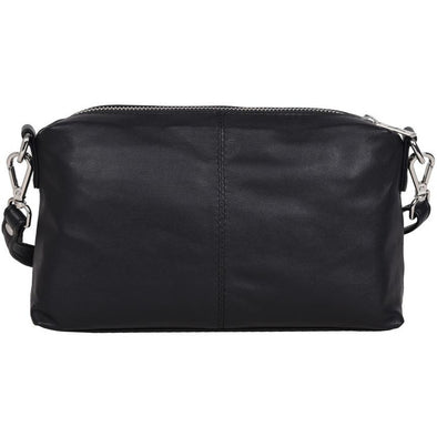 Lauren Small Leather Handbag - Fenasia Black