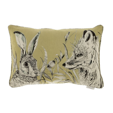 Hunt Cushion-Mustard